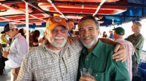 MBA Executive Director Tony Herbert alongside Charlie Papazian on our MBA 2013 Cruise